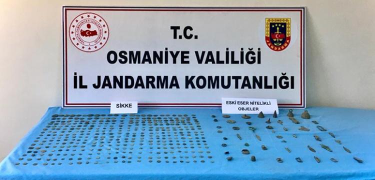 Osmaniye'de tarihi eser kaçakçılığı