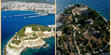 Güvercinada Kalesi UNESCO Dünya Mirası Geçici Listesine girdi