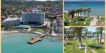 Egedeki ören yerleri ve otellerde kontrollü tatil