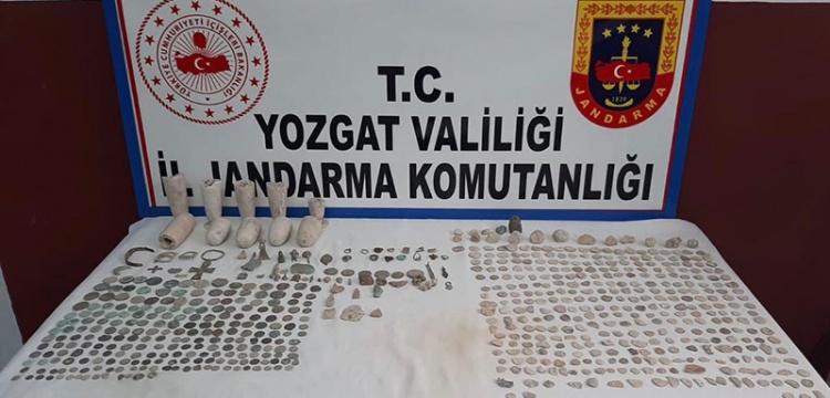 Yozgat'ta 665 parça tarihi eser gele geçirildi