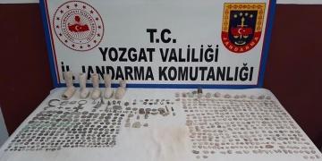 Yozgatta 665 parça tarihi eser gele geçirildi