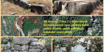 Olimposta yok denilen kalıntıları yürüyüşçüler buldu!