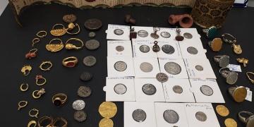 Mardinde çok sayıda tarihi eser ele geçirildi