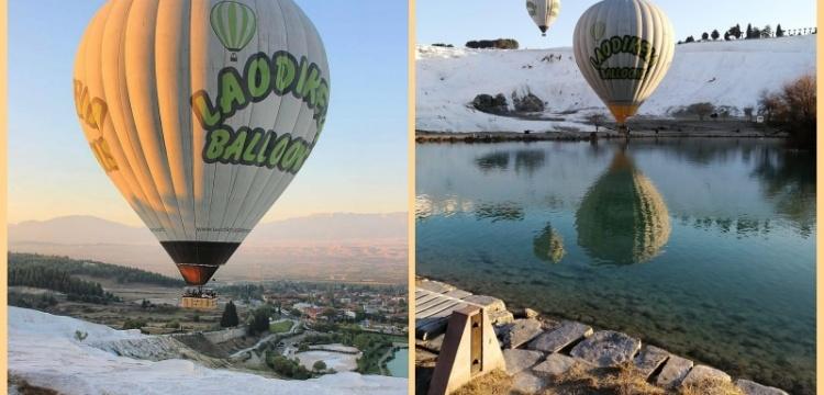 Pamukkale'nin balonları uçmak için gün sayıyor