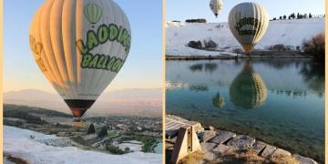 Pamukkalenin balonları uçmak için gün sayıyor