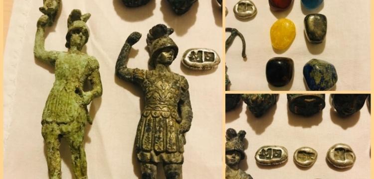 Balıkesir'de 3 bronz heykel yakalandı