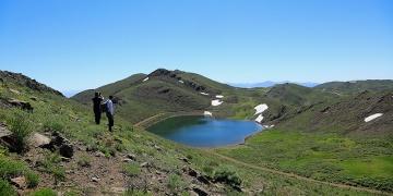 Bingölde kalp şeklindeki Gerendal gölü keşfedilmeyi bekliyor
