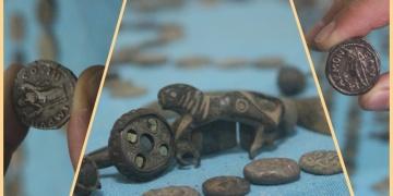 Manisada 672 parça tarihi eser niteliğinde obje yakalandı
