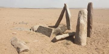 Gobi Çölünde Türklere ait olduğu sanılan mimari kalıntı bulundu