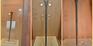 Hitit Kralı Tuthaliyanın kılıcı İstanbul Havalimanı Müzesinde sergilenecek