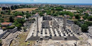 Didimdeki Apollon Tapınağı ziyarete açıldı