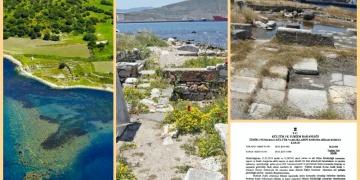 KYME antik kentinin sit derecesini düşüren kararda İzmir Büyükşehir imzası