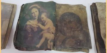 Hristiyanlığın ilk dönemlerini anlatan 3 dua kitabı yakalandı