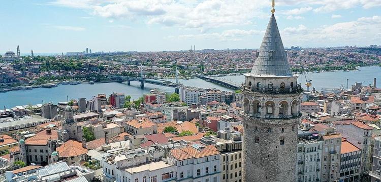 Galata Kulesi'nin dış cephe restorasyonu sonbahara bırakıldı