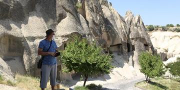 Kapadokyayı yeni normal dönemde yaklaşık 17 bin turist gezdi