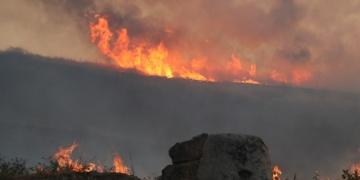 Laodikya Antik Kentine sıçrayan anız yangını söndürüldü