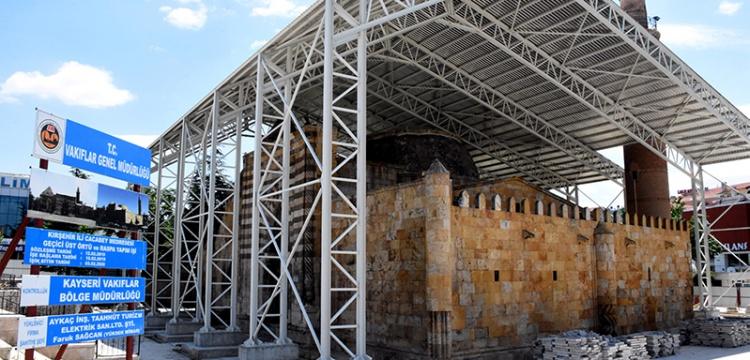 Cacabey camisi restore ediliyor