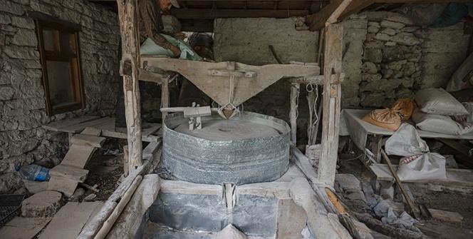 Mihalıççık Tarihi Su Değirmeni yaşam savaşı veriyor