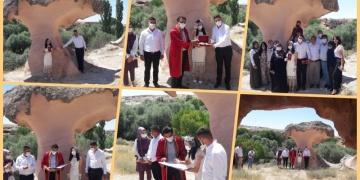 Açıksaray Ören Yeri nikah törenine şahitlik etti