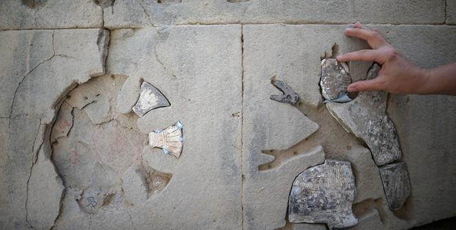 Ayanis Kalesi Urartu Tapınağı Taş Süslemeleri