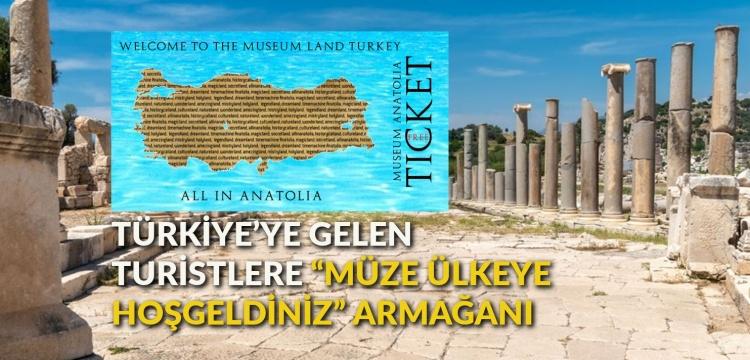 Arkeolog Nevzat Çevik'ten her turiste bir müze bileti önerisi