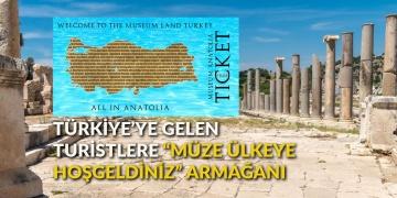 Arkeolog Nevzat Çevikten her turiste bir müze bileti önerisi