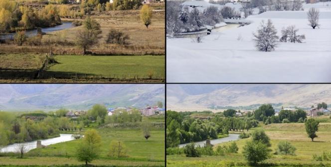 Tunceli Ovacıkın 4 mevsim güzelliği