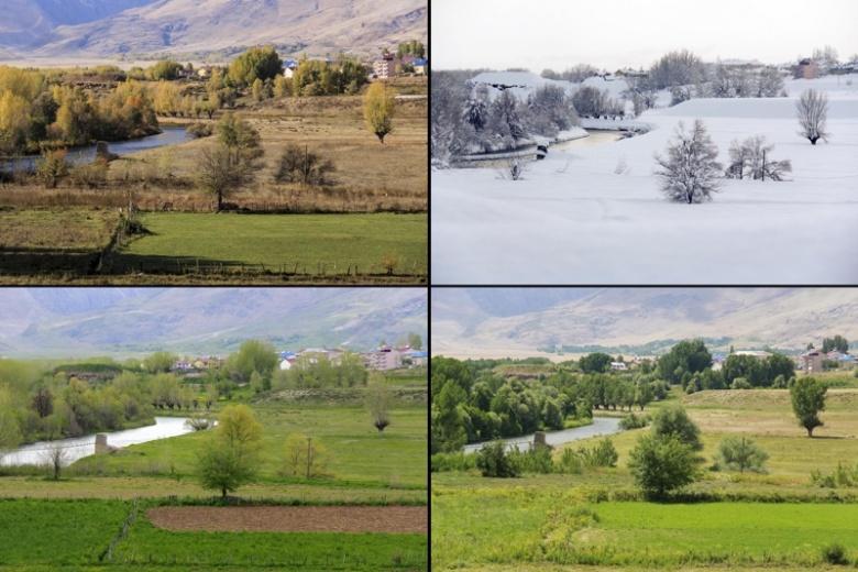 Tunceli Ovacık'ın 4 mevsim güzelliği