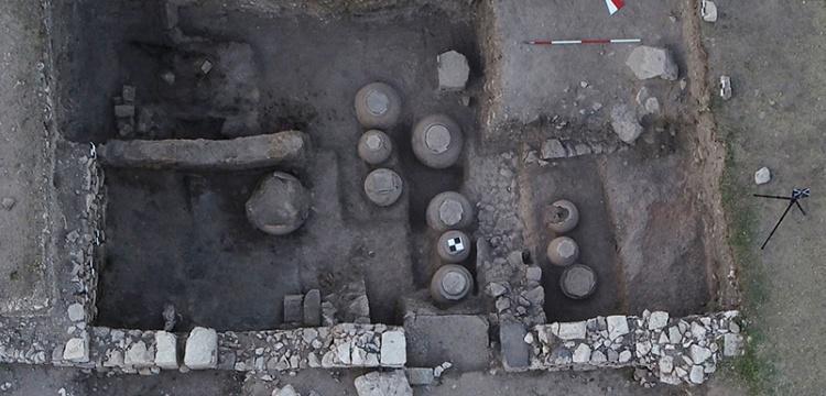 Amorium Antik Kenti'nde tahıl ambarı bulundu