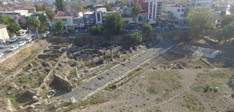 Tarsus'ta Antik Roma Yolu Kültür ve Turizm Bakanlığına tahsis edildi