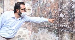 Sümela Manastırı frekslerinde tahribat açıklaması
