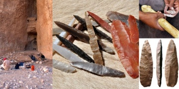 8.000 years old fluted stone tools discovered in Arabia