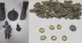 70 bin parça sikke ve tarihi eser yakalandı