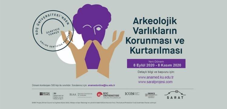 SARAT'tan Arkeolojik Varlıkların Korunması için Online Program