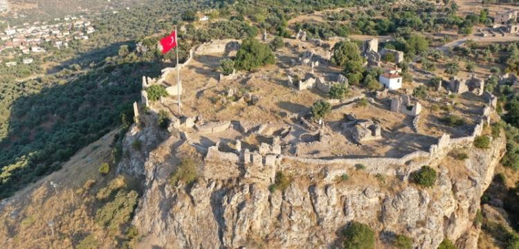 Beçin Antik Kenti'nde 700 yılık sarnıç ortaya çıkarıldı