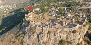 Beçin Antik Kentinde 700 yılık sarnıç ortaya çıkarıldı