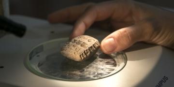 Aççana Höyükte 3 bin 400 yıllık tablet bulundu