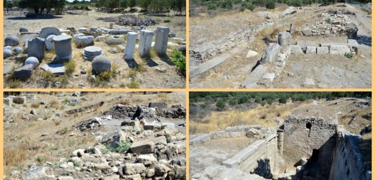 Alexandria Troas Antik Kenti'nde ekonomik çöküş izleri
