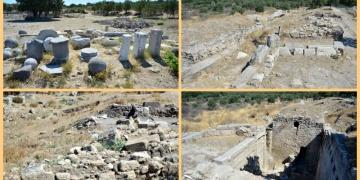 Alexandria Troas Antik Kentinde ekonomik çöküş izleri