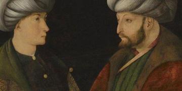 Gentile Bellininin Fatih Sultan Mehmet tablosu İstanbulda