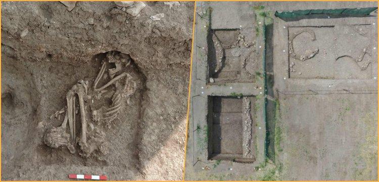Bilecik'teki apartman bahçesi kazılarında 8.500 yıllık insan iskeleti bulundu