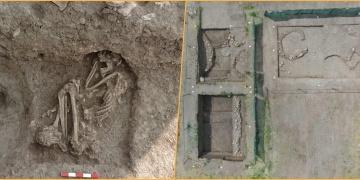 Bilecikteki apartman bahçesi kazılarında 8.500 yıllık insan iskeleti bulundu