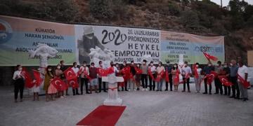 Uluslararası Prokonnesos Heykel Sempozyumu sona erdi