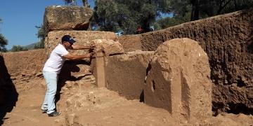 Nysa Antik Kenti anıtsal çeşmesi bulundu