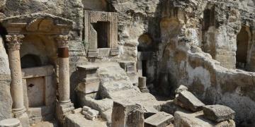 Şanlıurfadaki mağara mezarlarında arkeoloji kazıları başladı