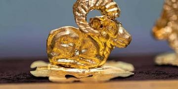 Kazakistanda Sakalar dönemine ait 850 adet altın eser bulundu