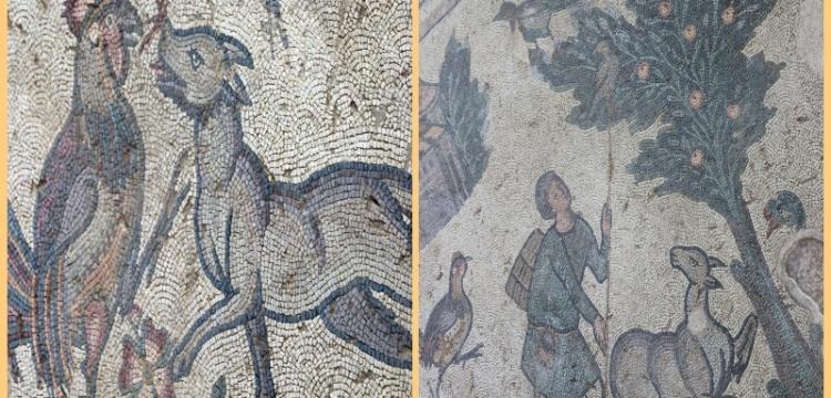 Geramanicia Antik Kentinde iki yeni mozaik alanı ziyarete açıldı