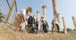 Soli Pompeiopolis Antik Kentinde Dünya Temizlik Günü kutlandı
