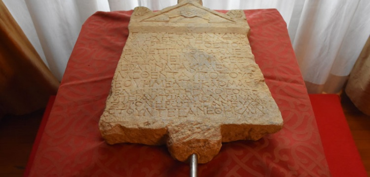 Lidya kefaret yazıtı Türkiye'ye getirildi