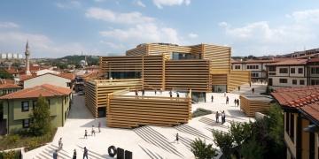 Odunpazarı Modern Müzeye Yılın Uluslararası Projesi Ödülü